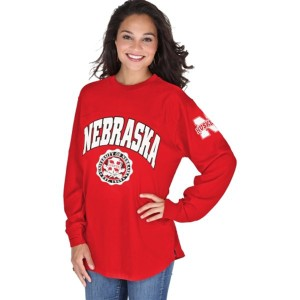 Nebraska College Wear Supermodel