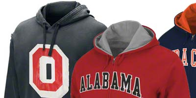 College Hoodie Sweatshirts for Men and Women