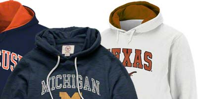 College Fleece Hoodies for Boys and Girls