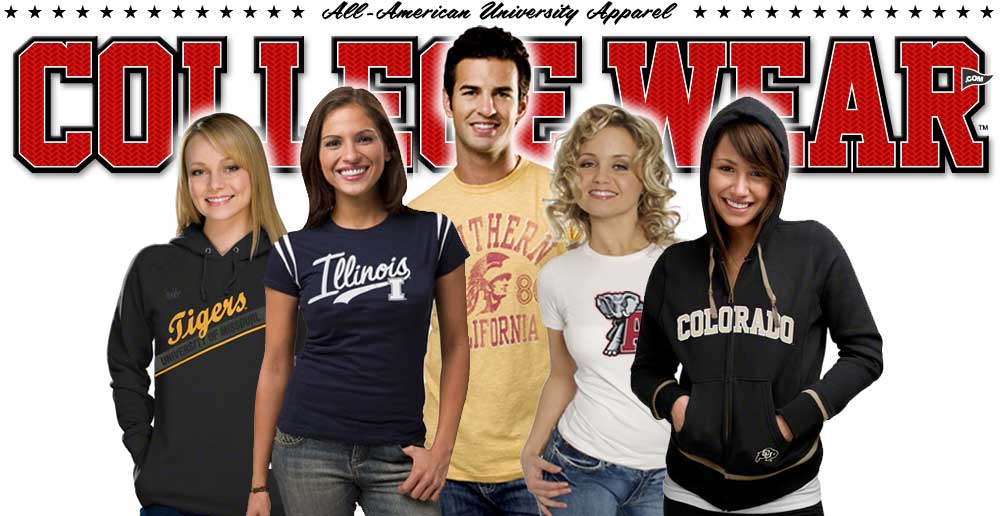 College Wear College Apparel and University Sportswear
